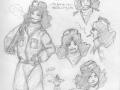 Fumetto La Fiamma della vittoria - Biografia