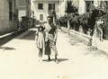 Angelo Galligani e la sorella Mirella