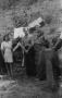 La famiglia Galligani ad una commemorazione della Battaglia di Pelosa