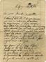 Lettera di Angelo Galligani alla famiglia_pag1