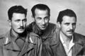da sinistra Vincenzo Puglia, Aldo Costi, Duilio Lanaro