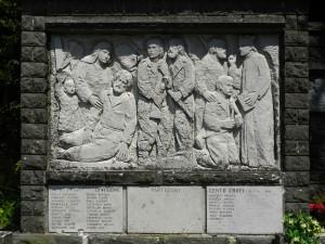 """Monumento alla Brigata """"Centocroci"""" sull'omonimo Passo"""