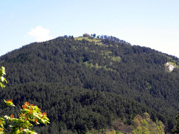 Il monte Dragone (foto di Mauro Martone)