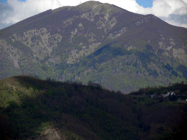 Il monte Gottero (foto di Mauro Martone)