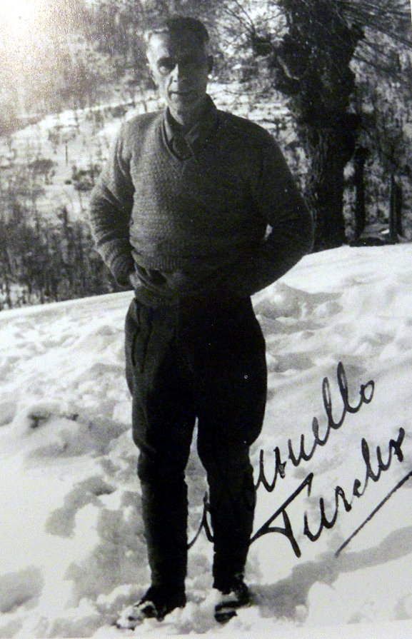 """col. Mario Fontana """"Turchi"""", Comandante della IV Zona Operativa"""