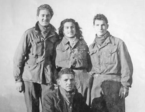 Giuseppina Cogliolo e altri partigiani