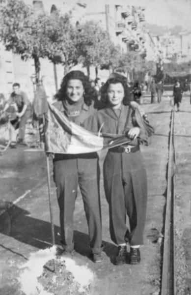 Giuseppina Cogliolo e Angela Bastelli